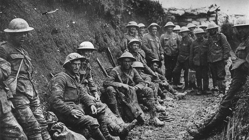 Los cascos de la Gran Guerra